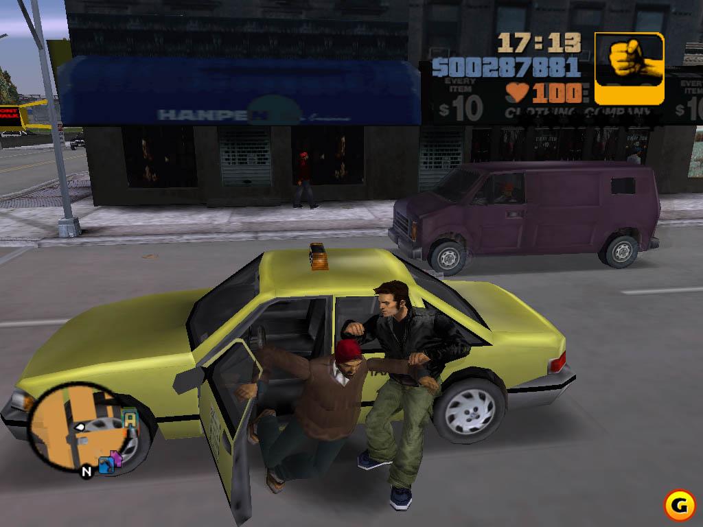 Grand theft auto iii играть