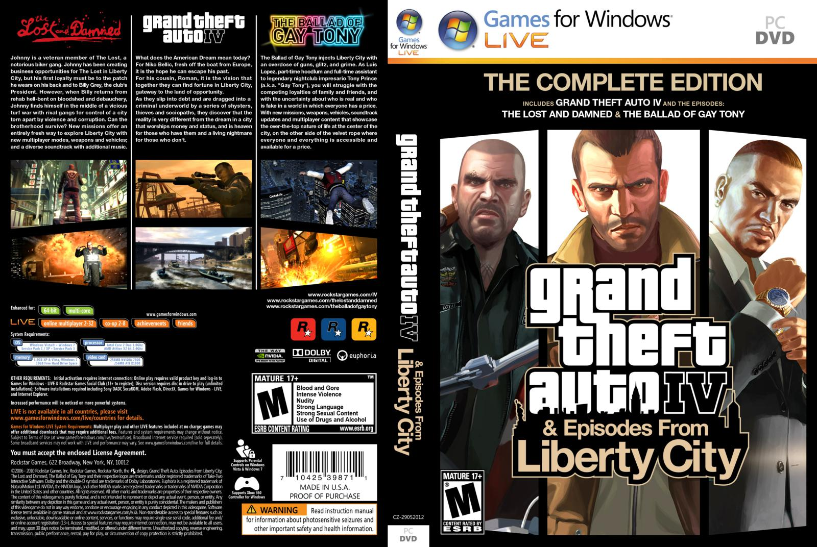 Gta 4 / grand theft auto iv complete edition [v 1080-1130] (2010.