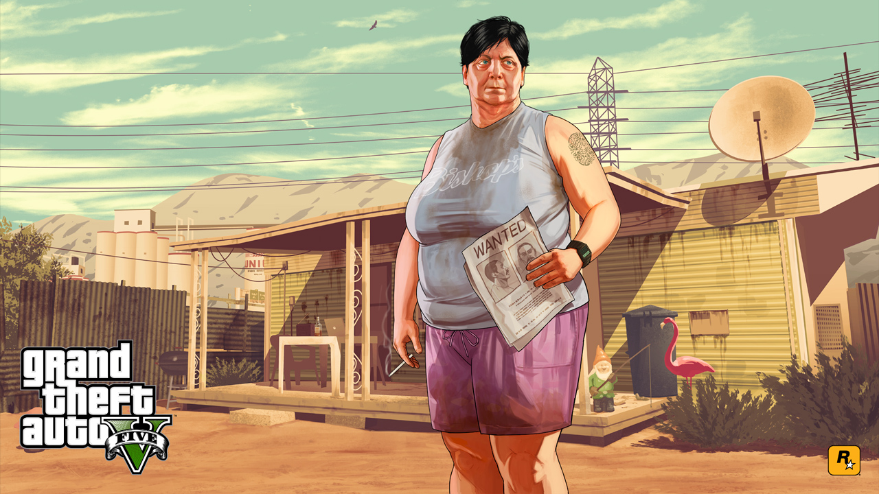 Grand Theft Auto V  фото обои на рабочий стол картинки