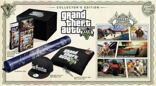 The Grand Theft Auto V Collector's Edition