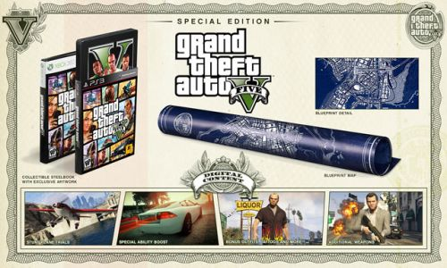 The Grand Theft Auto V Special Edition