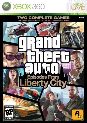 Обложка диска Episodes From Liberty City для Xbox 360