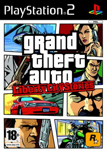 Обложка GTA: Liberty City Stories для PS2
