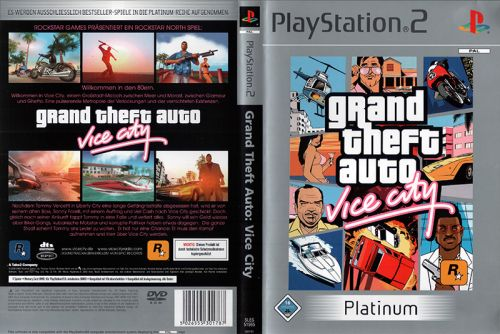 Скачать GTA: Vice City на PS2