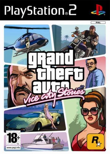 Обложка GTA: Vice City Stories